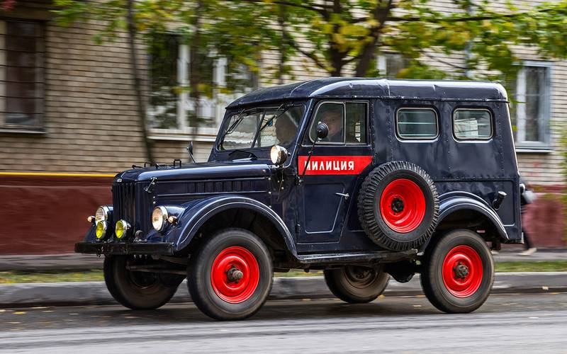 Retrotest of the famous GAZ-69 goat: Aniskin and Mukhtar drove it