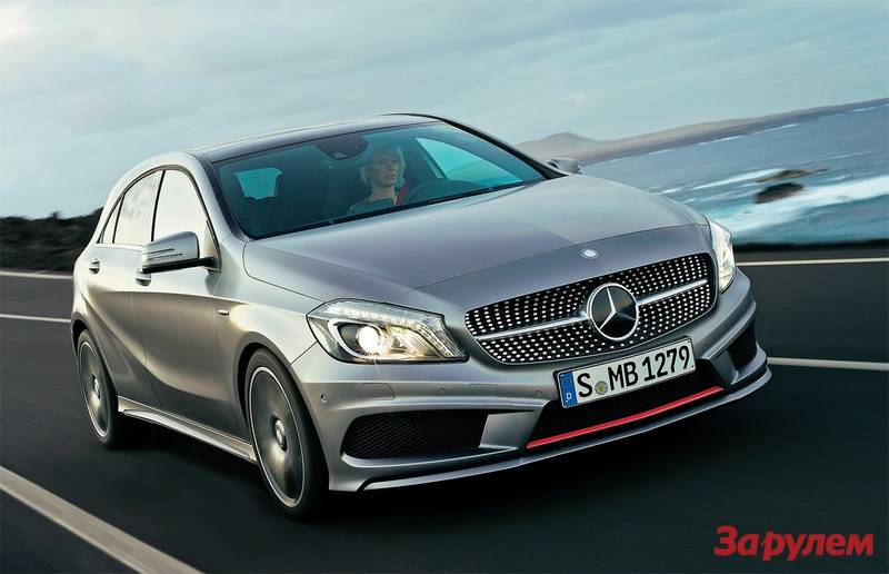 Mercedes-Benz A-Klasse: as for the first time